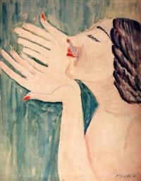 woman by avraham melnikov