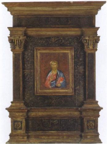 cristo benedicente by duccio di buoninsegna predecessor