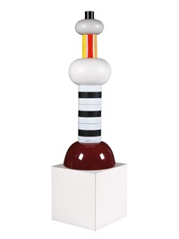 agra totem by ettore sottsass