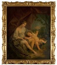 vénus et l'amour by françois lemoyne
