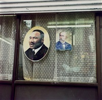 martin luther king, jr., east 17th st., nyc by zoe leonard