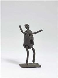 kleine stehende figur by heinrich kirchner
