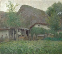 farm house, normandy by alexis jean fournier