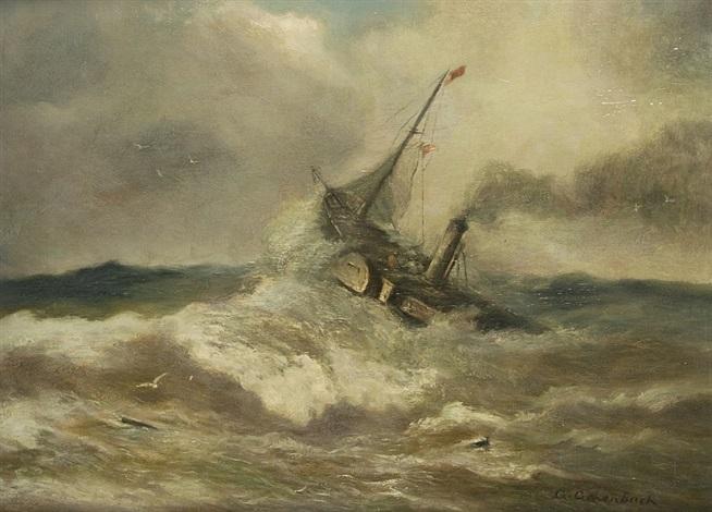 dampfschiff by andreas achenbach