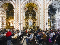 iglesia de san francisco, lima, peru by thomas struth