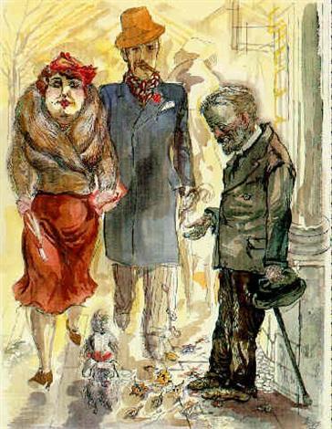 BERLINER STRASSENSZENE by George Grosz on artnet