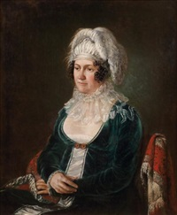 portrait de femme assise by françois joseph navez