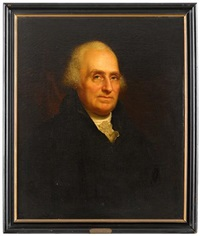 portrait of edward burd (1749-1833) by rembrandt peale