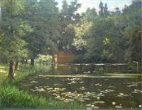 l'étang aux nénuphars by henri biva