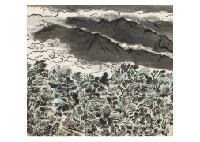 mountain landscape by hitoshi komatsu