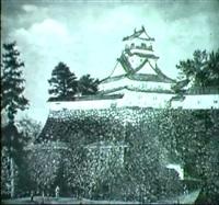 donjon de vieux chateau de kacki (japan) by mary baillod