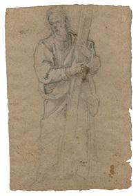 etude pour saint andré by jacopo (da empoli) chimenti