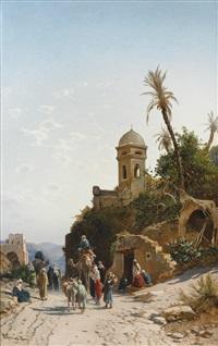 on the road to jerusalem by hermann david salomon corrodi