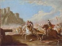 battaglia contro i turchi by andrea di leone