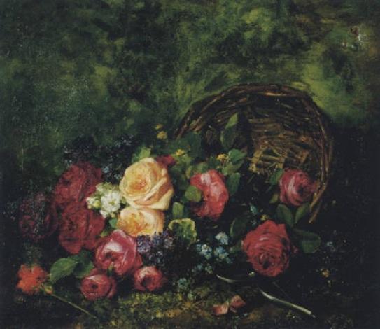 fleurs coupées by louis marie de schryver