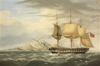warren hastings off ascension island by george atkinson