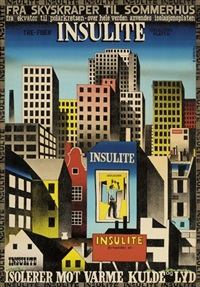 insulite (poster) by ib andersen