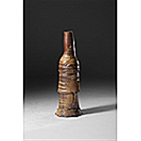 goshun wood fired stack pot by peter voulkos