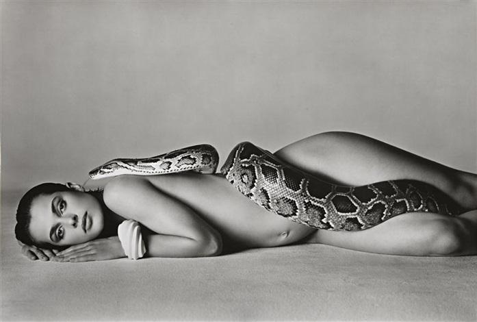 nastassja kinski and the serpent los angeles california june 14 by richard avedon