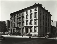 fifth avenue houses, nos. 4, 6, 8, new york by berenice abbott