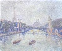 le pont alexandre iii à paris by stan reszka