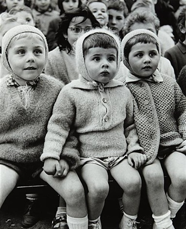 children at the puppet theater ii paris by alfred eisenstaedt