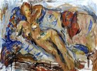 laying nude by zenon kononowicz
