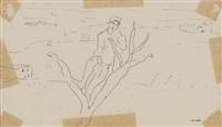 l'homme a l'arbre by albert marquet