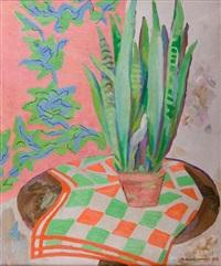 kwiaty w doniczce by maria ewa lunkiewicz-rogoyska
