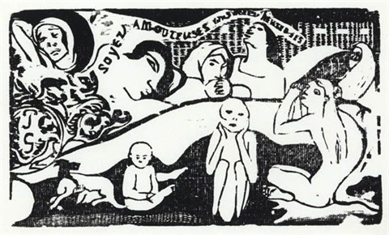 soyez amoureuses by paul gauguin