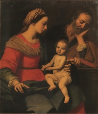 sacra famiglia by lorenzo lippi