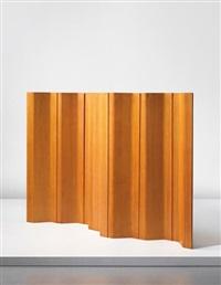 seven-panelled room divider, model no. pk 111 by poul kjaerholm