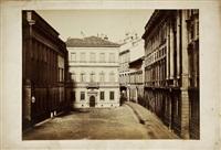 milan, piazza belgioso, casa di manzoni by pompeo pozzi