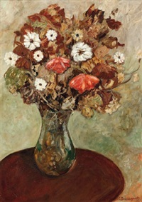bouquet de fleurs by jean louis boussingault