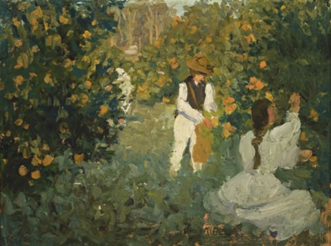 the orange pickers by emanuel phillips fox