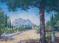 parthenon acropolis athens, greece by may ames