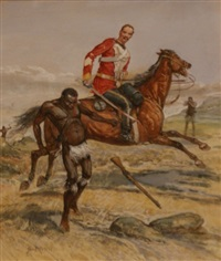 an incident in the zulu war by george rossi ashton