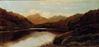 paesaggio con lago by charles robert leslie