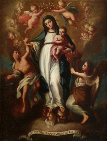 la madre santissima de la luz by miguel cabrera