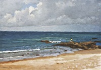 beach near tangier by henry robertson craig