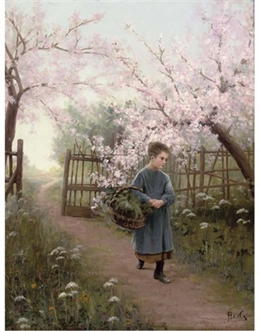 a walk along the orchard path by jean paul haag