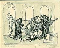 szkic z botticellego by kazimierz podsadecki
