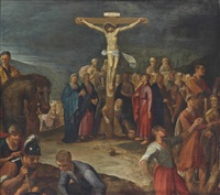 the crucifixion by pieter lastman