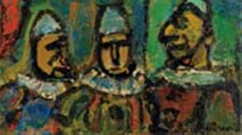 trio by georges rouault