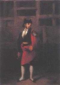 un torero en la plaza by antonio cabral bejarano