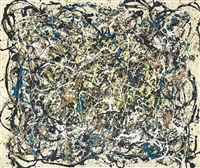 not pollock by mike bidlo