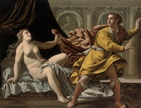 joseph and potiphar's wife by marcantonio bassetti
