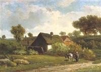 the little farm by alexander joseph daiwaille