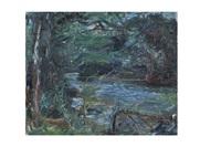 rivière et sous bois by raymond jean legueult