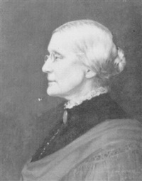 portrait of susan b. anthony by carl guthers gutherz